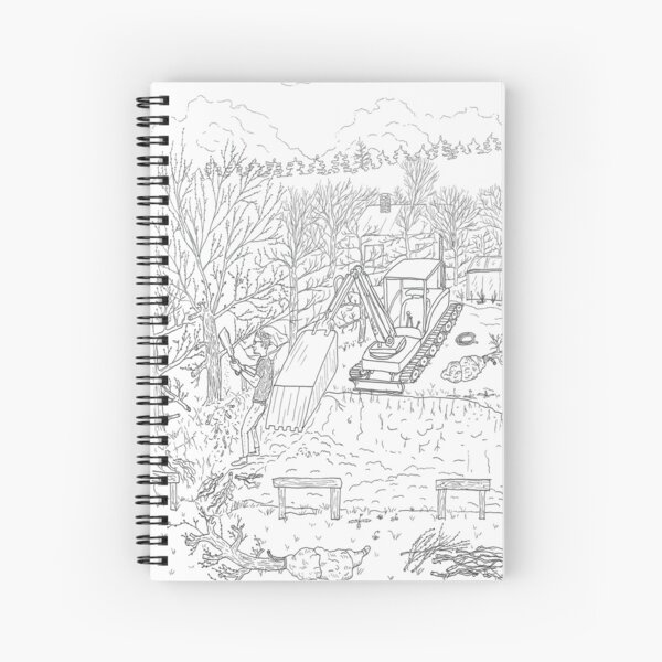 beegarden.works 013 Spiral Notebook