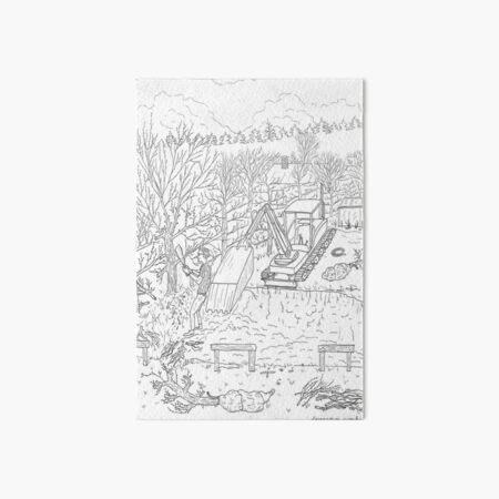 beegarden.works 013 Art Board Print