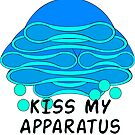 Kiss my (golgi) apparatus by mcthoughtful