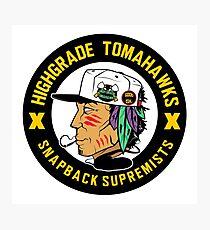 Highgrade Tomahawks Photographic Print