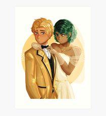 Fierrochase Wedding Art Print