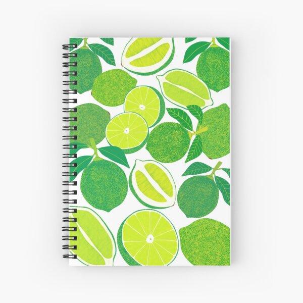 Lime Harvest Spiral Notebook