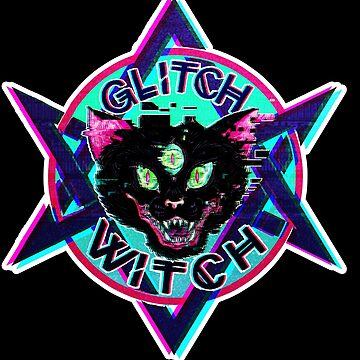 GLITCH WITCH by the-fairweather