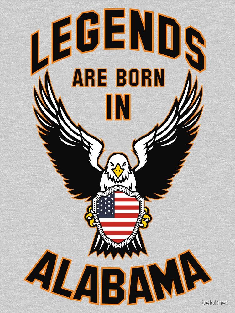 Legends are born in Alabama by beloknet