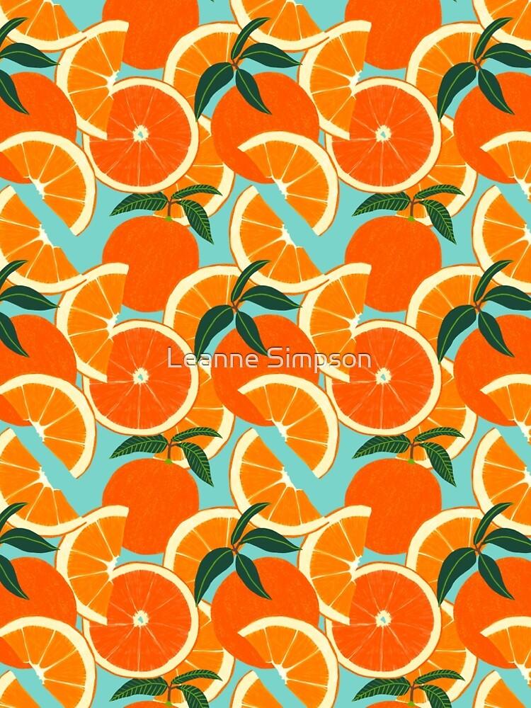 Orange Harvest - Blue by leannesimpson