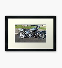 Zed Power Framed Print