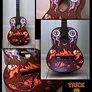 Devil Vs Al Guitar by trickmonkey