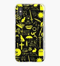 Buffy Symbology, Yellow iPhone Case/Skin
