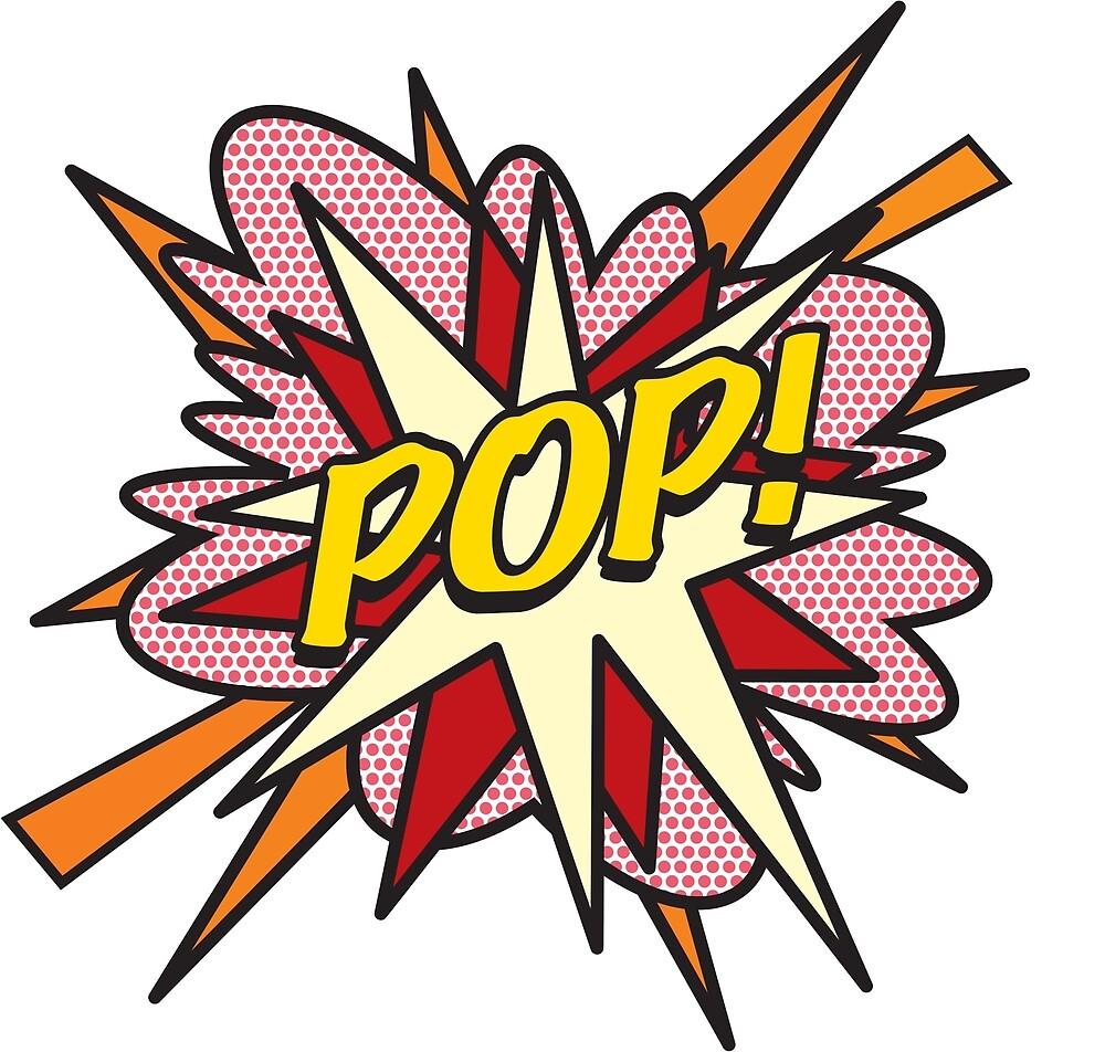 Comic Book Pop Art POP! by Thisis notme