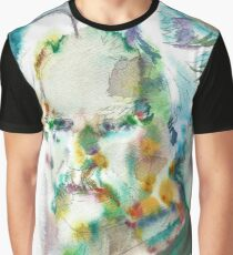 MARK TWAIN - watercolor portrait.4 Graphic T-Shirt