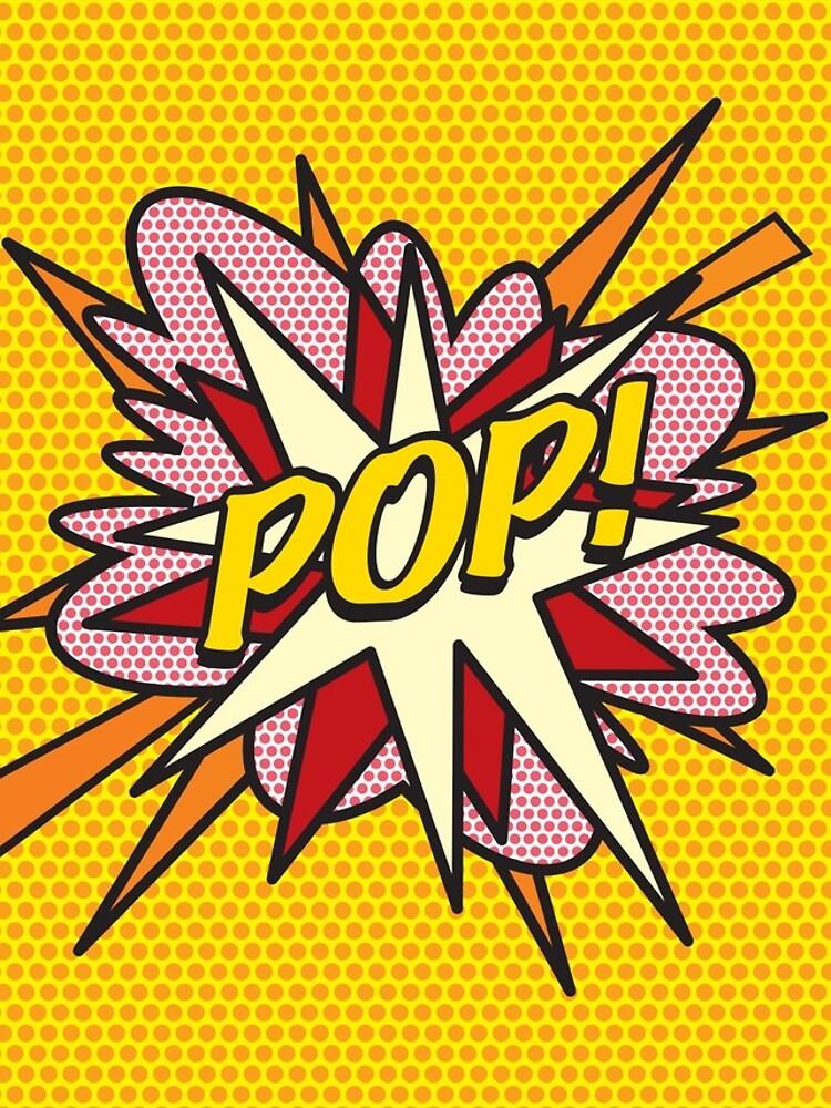 Comic Book Pop Art POP! de theimagezone