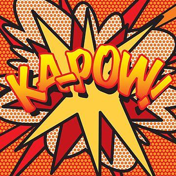 Comic Book Pop Art KA-POW! by theimagezone