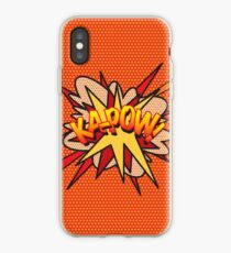 Comic Book Pop Art KA-POW! iPhone Case