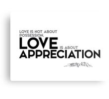 Love Is About Appreciation Osho Posters By Razvandrc Redbubble