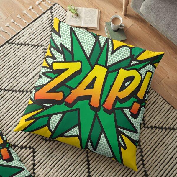 ZAP Comic Book Pop Art Retro Fun Floor Pillow