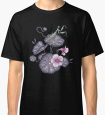 Black Indian cress garden. Classic T-Shirt