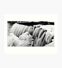 Water and Ice II Art Print