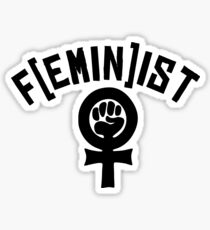 Feminist Fist We Can Do It Gay T-Shirts Sticker