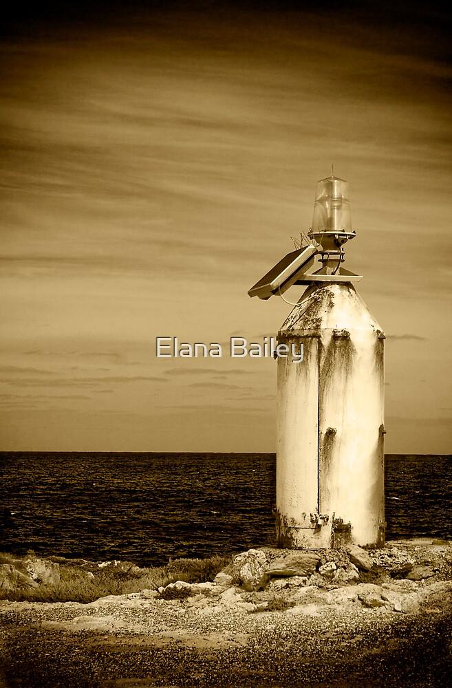 Solar powered Lighthouse, Point Helen, Kangaroo Island by Elana Bailey