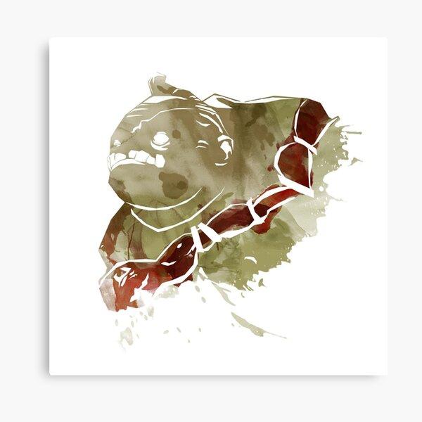 Dota 2 - Pudge Canvas Print