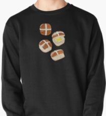 Hot Cross Buns Pullover