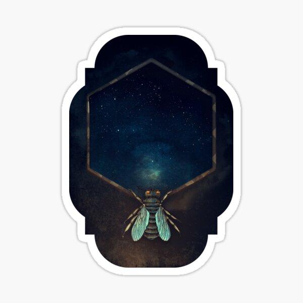 Bee Universe Sticker
