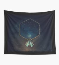 Bee Universe Wall Tapestry