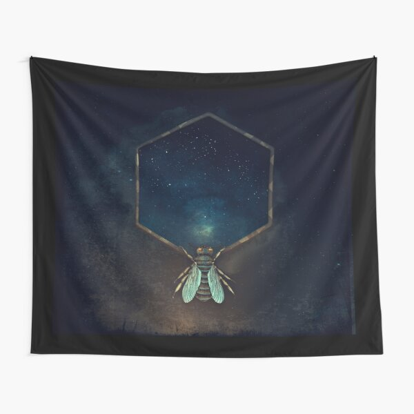 Bee Universe Tapestry