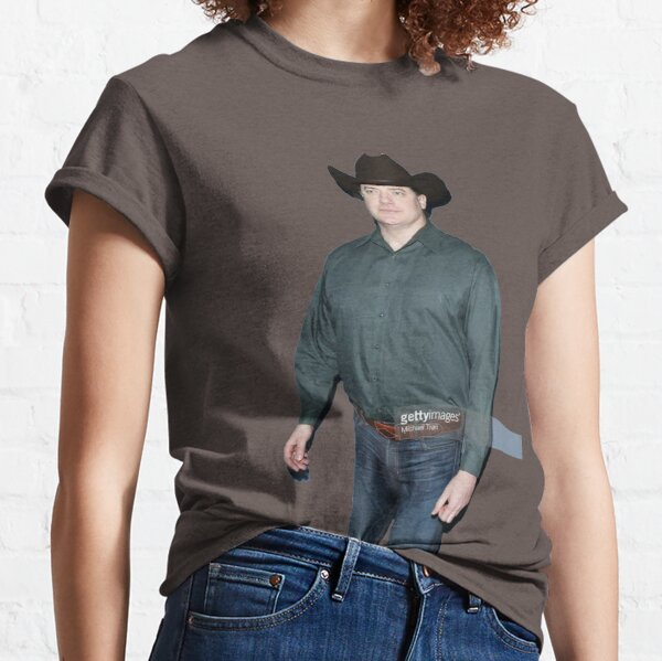 Brendan Fraser Cowboy Classic T-Shirt