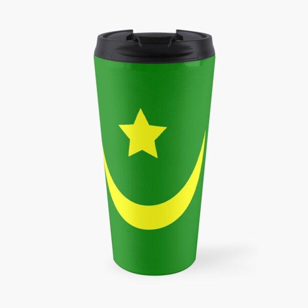 Flag of Mauritania Travel Mug