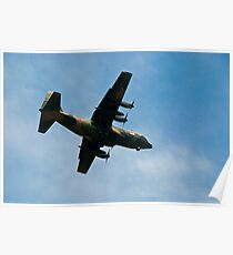 C130 Hercules Aircraft Poster
