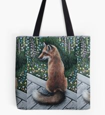 Gunner the Red Fox Tote Bag