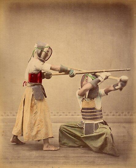 Kendo old school by Fletchsan