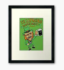 The leprechaun Framed Print