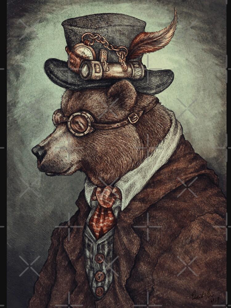 Mr Teddy Bearson  by elspethrose