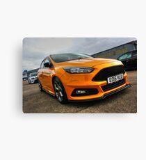 Orange Focus ST at EFM Canvas Print