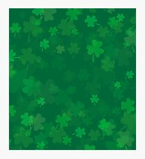 St. Patrick's Day Background Photographic Print
