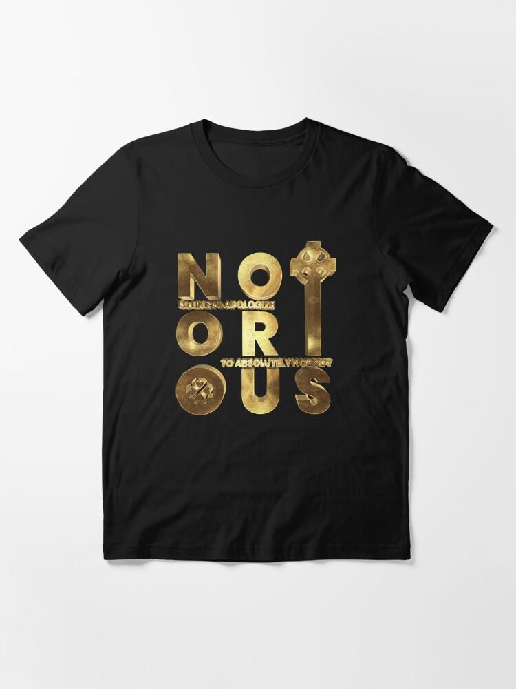 Alternate view of Notorious Irish King Conor McGregor Essential T-Shirt