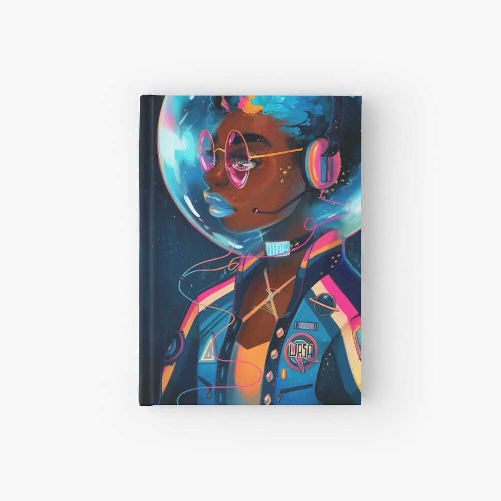 Space Letterman II Hardcover Journal