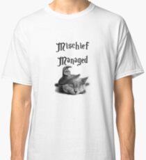 Kitten - Mischief Managed Classic T-Shirt