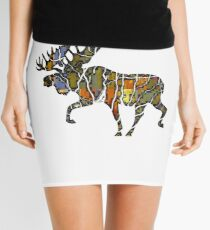 Moose Vibe Mini Skirt