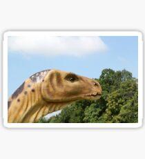 dinosaur head  Sticker