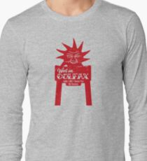 West on Colfax Red Motel Long Sleeve T-Shirt