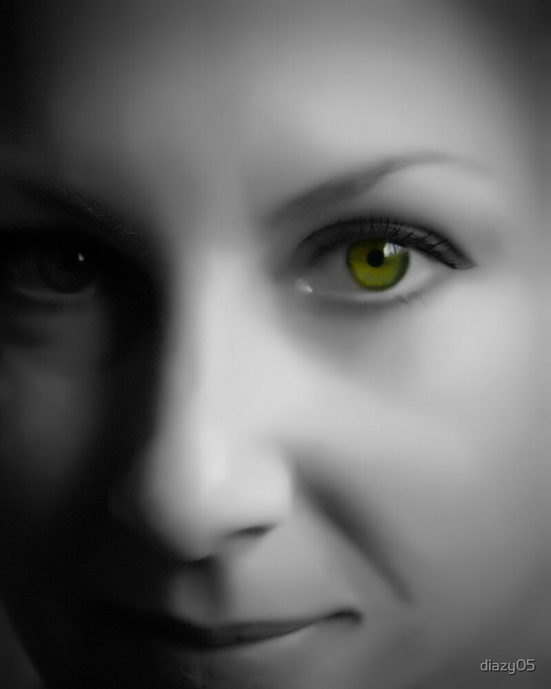 Green Eyed Monster by Di Jenkins