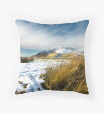 Blencathra - Lake District - Cumbria Throw Pillow
