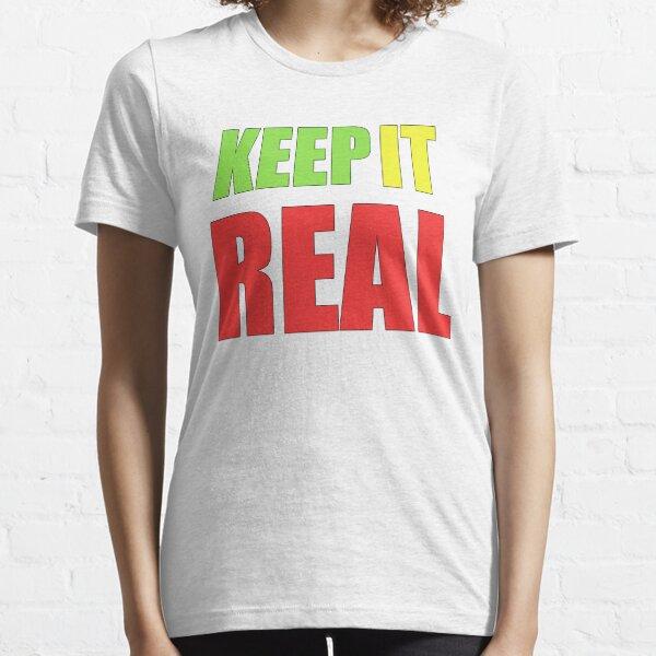 mantenerlo real ali g Camiseta esencial