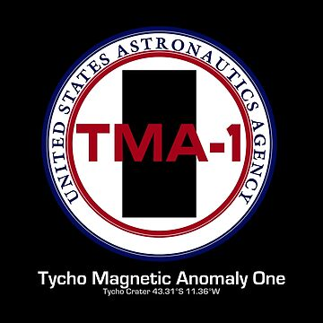Tycho Magnetic Anomaly 1 - Inspired by 2001 : A Space Odyssey by WonkyRobot