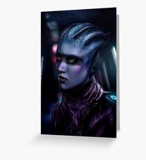 Peebee - Mass Effect Andromeda Greeting Card