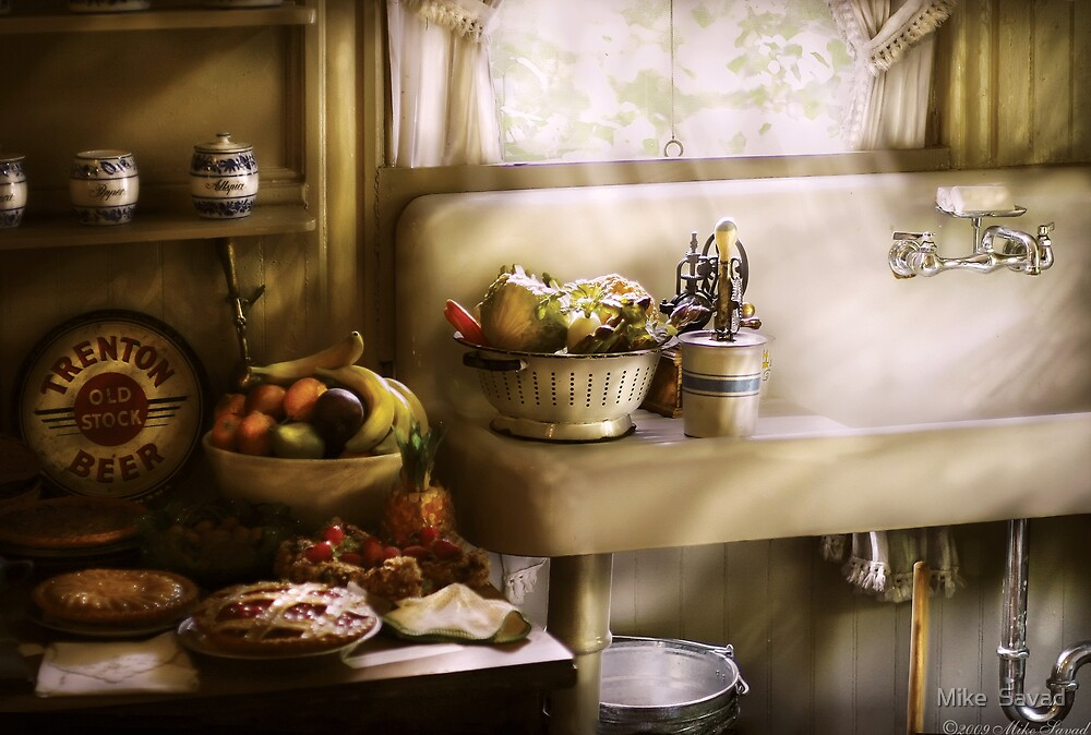 A 1930's Kitchen by Michael Savad