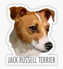 Jack Russell Terrier Dog Sticker